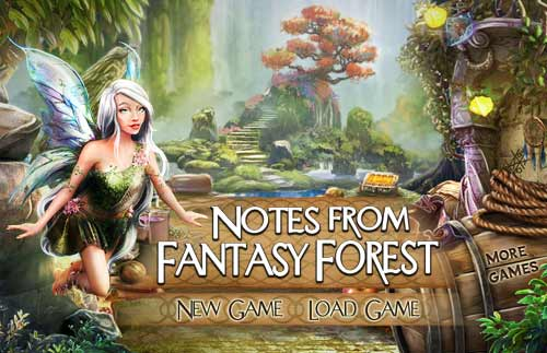 Image Notes from Fantasy Forest